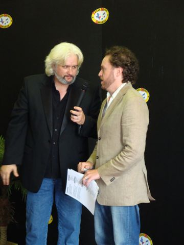 On the red carpet with Lucky Boyd